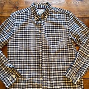 Men's Jos a bank 1905 blue plaid M